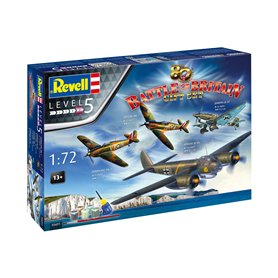 Revell 05691 80th Anniversary Battle of Britain (Spitfire Mk.I, Hurricane Mk. I, Ju 88A-1, Ju 87B)