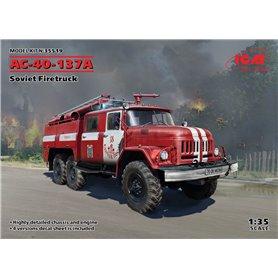 ICM 1:35 AC-40-137A - SOVIET FIRETRUCK