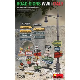 Mini Art 1:35 ROAD SIGNS - WWII ITALY