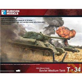 Rubicon Models 1:56 T-34/76 – Early & Mid War