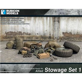 Rubicon Models 1:56 Allied Stowage Set 1