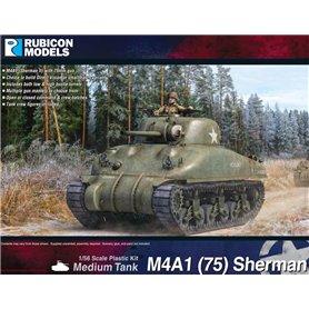 Rubicon Models 1:56 M4A1(75) Sherman - DV & SH