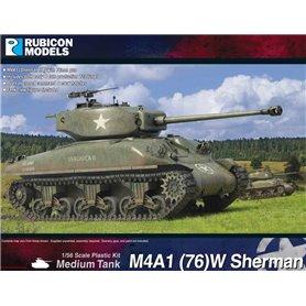Rubicon Models 1:56 M4A1(76)W Sherman – LH
