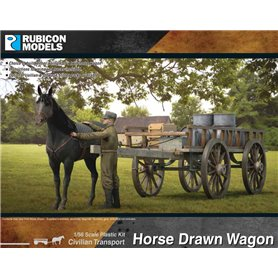 Rubicon Models 1:56 Horse Drawn Wagon