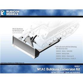 Rubicon Models 1:56 Zestaw dodatków M1A1 Bulldozer CONVERSATION SET - RESIN