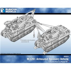 Rubicon Models 1:56 Zestaw dodatków M32B1 ARMOURED RECOVERY VEHICLE - CONVERSATION SET