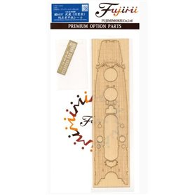 Fujimi 116433 1/700 Genuine Wood Deck Seal for IJN Battle Ship Musash