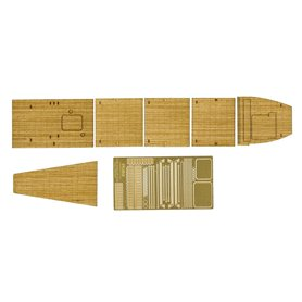 Fujimi 114484 1/700 Wood Deck Seal for IJN Aircraft Carrier Kaga Triple Flight Deck