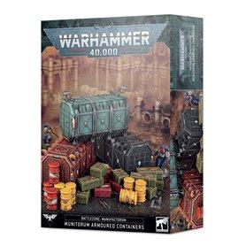 Battlezone Manufactorum: Munitorum Armoured Containers