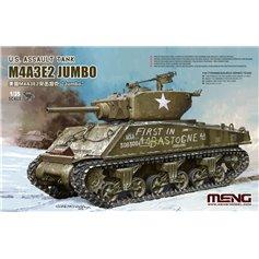 Meng 1:35 M4A3E2 Jumbo - US ASSAULT TANK