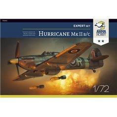 Arma Hobby 1:72 Hawker Hurricane Mk.II B/C - EXPERT SET