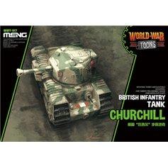 Meng WORLD WAR TOONS Churchill - BRITISH INFANTRY TANK