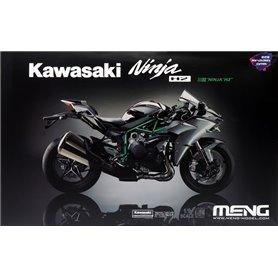 Meng MT-002s Kawasaki Ninja H2 Pre-coloured