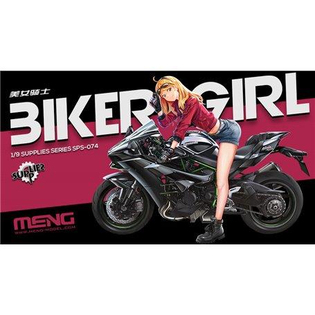 Meng SPS-074 Biker Girl