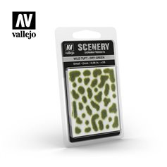 Vallejo SC401 Tufty WILD TUFTS - DRY GREEN - SMALL - 2mm