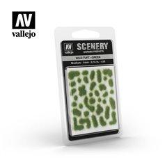 Vallejo SC406 Tufty WILD TUFTS - GREEN - MEDIUM - 4mm