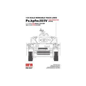 RFM-5047 Pz.Kpfw.III/IV Early Production (40cm) Tracks