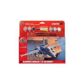 Airfix 1:72 Starter Set - McDonnell Douglas F-18A Hornet