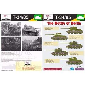 ROP o.s. MNFDT35024 1:35 T-34/85 - The Battle of Berlin