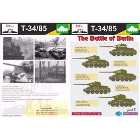 ROP o.s. MNFDT35025 1:35 T-34/85 - The Battle of Berlin