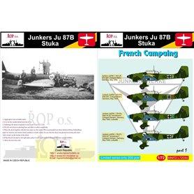 ROP o.s. MNFDL72044 1:72 Junkers Ju 87B Stuka - French Campaign