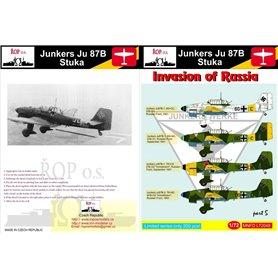 ROP o.s. MNFDL72048 1:72 Junkers Ju 87B Stuka - Invasion of Russia