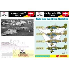 ROP o.s. MNFDL72047 1:72 Junkers Ju 87B Stuka - Stukas over the African Battlefield