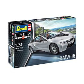 Revell 1:24 BMW I8 - MODEL SET - z farbami