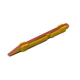 Excel 55721 Grey Sandong Stick w/2 80 Grit Belts