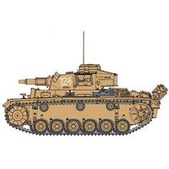 Dragon 1:35 Pz.Kpfw.III Ausf N - s.Pz.Abt.501 TUNISIA 1942/1943