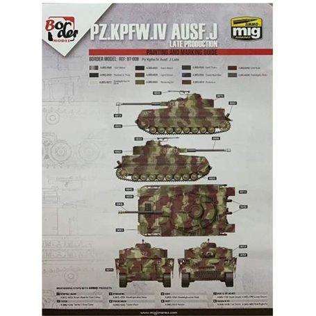 "Border Model BD0036 Pz.Kpfw.IV Ausf.J Late Production Masks "" B "" for Border Model BT-008 1/35"