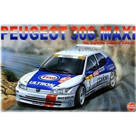 Nunu 24009 1/24 Peugeot 306 Maxi Monte Carlo 85