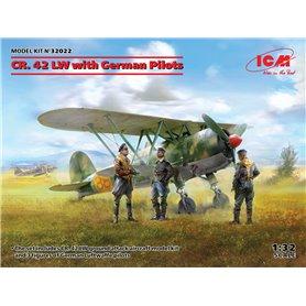 ICM 32022 CR. 42 LW with German Pilots