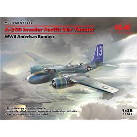 ICM 48285 A-26B Invader Pacific War Theater, WWII American Bomber