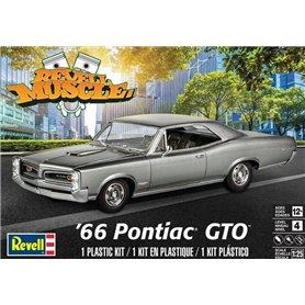 Monogram 4479 1/25 '66 Pontiac GTO