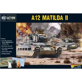 Bolt Action A12 Matilda II infantry tank - Plastic Box