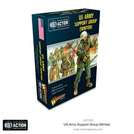 Bolt Action US Army Winter Support Group - Metal box