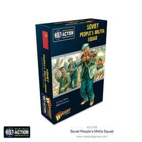 Bolt Action Soviet Peoples Militia Squad - Metal Box