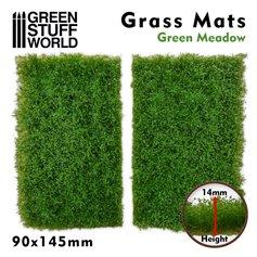Green Stuff World Mata trawiasta GRASS MAT CUTOUTS - GREEN MEADOW