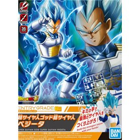 Bandai 58860 ENTRY GRADE SUPER SAIYAN GOD SUPER SAIYAN VEGETA GUN58860    No box [ ]