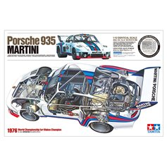Tamiya 1:12 Porsche 935 - MARTINI 1976 WORLD CHAMPIONSHIP FOR MAKES CHAMPION