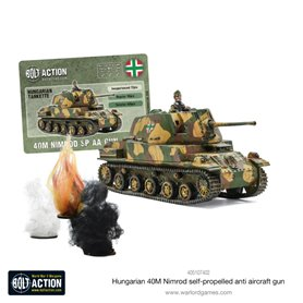 Bolt Action Hungarian 40M Nimrod SPAA Gun