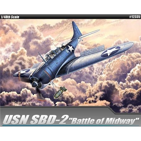 Academy 1:48 USN SBD-2 Midway