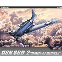 Academy 1:48 SBD-2 - BATTLE OF MIDWAY