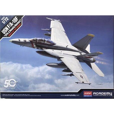Academy 1:72 USN F/A-18F VFA-2 Bounty Hunters