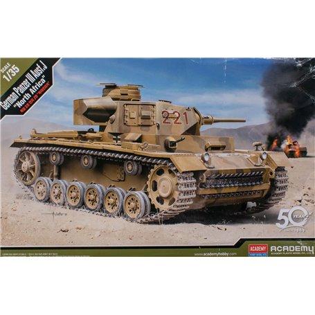 Academy 1:35 German Panzer III Ausf.J North Africa