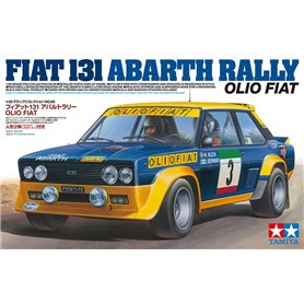 Tamiya 20069 1/20 131 Abarth Rally Olio Fiat