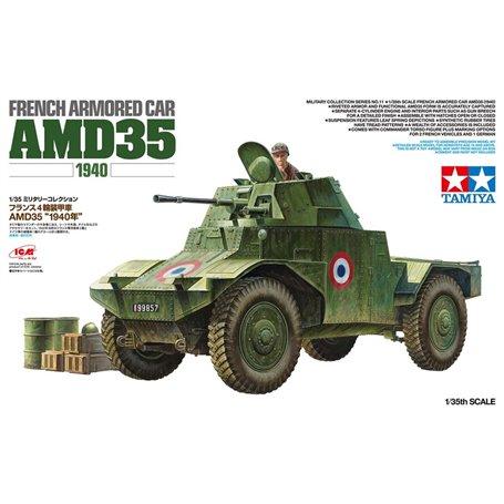 Tamiya 32411 1/35 French Armored Car AMD35 1940