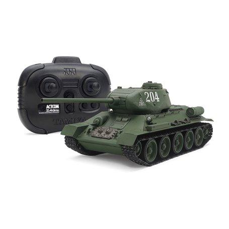 Tamiya 48216 1/35 Russian Medium Tank T34-85 (w/Control Unit)