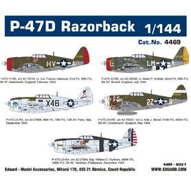 Eduard 1:144 Republic P-47D Razorback